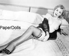 PDSN-0313 SCARCE VINTAGE 4X5 B/W 1950'S-1960'S NEGATIVE SWEET PINUP NUDE MODEL