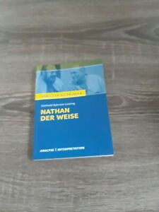 Lehrbuch,Nathan der Weise,Analyse/ Interpretation,  von Gotthold Ephraim Lessing