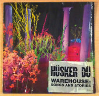 "HUSKER DU  "" Warehouse: Songs And Stories "" -  Vinyl 2 Lp 12""  - 1987 Germany"