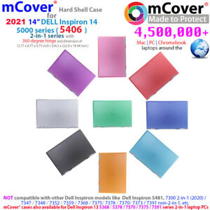 """NEW mCover® Hard Shell Case for 2021 14"""" Dell Inspiron 14 5406 2-in-1 laptop"""