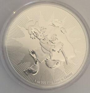 2018 Disney Lunar Year of the Dog 1 oz Tube New Zealand Niue No Coins