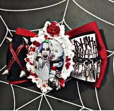 Harley Quinn And Joker Hair Bow Suicide Squad