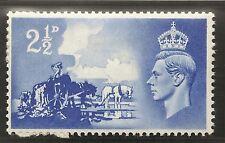 SG C2a 1948 Canal Islas enumerados Variedad - 'Corona defecto' QCOM 13a desmontado como nuevos