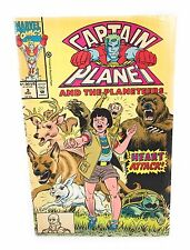 Captain Planet and the Planeteers #3 Marvel Comics
