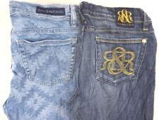 Rock & Republic Women's Dark/Medium Wash Skinny/Boot Cut Jeans 8,29 x 29,28