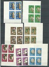 Russia. USSR. 1964. Plants Mi 2922-29B , SC 2913-19 Imperf  MNH