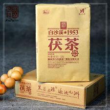 338g Fu Cha Dark Tea Brick Chinese Baishaxi 1953 Organic Jin Hua Anhua dark Tea