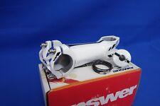 "New Answer Rove Bike Stem 1-1/8"" x 120mm x 31.8mm - White w/ Spacers & Top Cap"