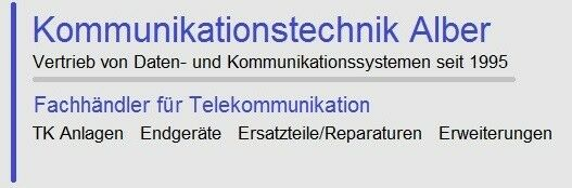 Kommunikationstechnik-Alber