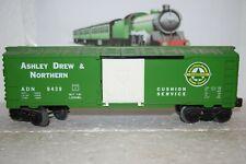O Scale Trains Lionel Ashley Drew Northern Box Car 9439