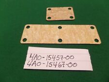2 YAMAHA TZ 500 G H J INSPECTION COVER GASKETS (NOT TZ 350) 4A0-15457-00 & 15467