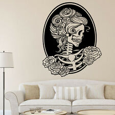 Removable Skull Head Tattoo Horror Zombie Vinyl Wall Decal Sticker Home Décor