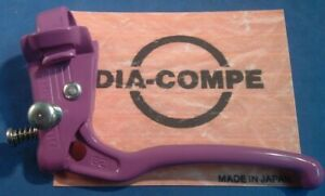 Dia-Compe Japan 1986 MX-128S Locking F/S / BMX NEW/NOS Front Brake Lever-Purple