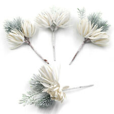 Fake Flowers Plastic DIY Pine Grass Plant Artificial Pine Branches Wedding Party