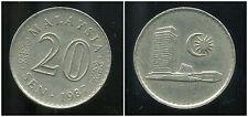 MALAISIE 20 sen 1987