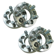 "Four 5x5 127 Wheel Spacers 1.5"" Thick 1/2 Lug Buick LeSabre Cadillac Chevy C10"