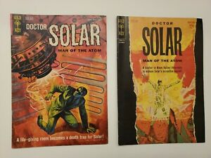 GOLD KEY SILVER COMICS DOCTOR SOLAR No.2, 4 (2 issues) VF