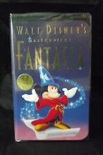 Walt Disney Fantasia VHS SEALED Final Release Original Masterpiece Mickey Mouse