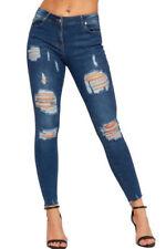 Jeans da donna slim, skinny in denim taglia 38