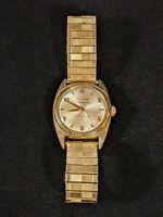 Rare 1950s BULOVA 23 Jewels Selfwinding Automatic Sun Burst Mens Wrist Watch...