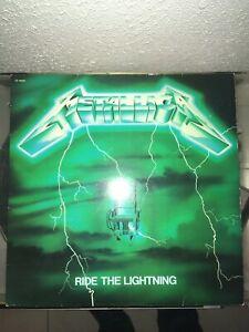 Metallica - Ride The Lightning French Green - Bernett 1984