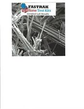 ASBESTOS SURVEY KIT  WITH PROFESSIONAL PHONE  CONSULTATION. THE SURVEY IS
