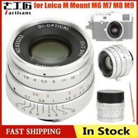 7artisans 35mm f2.0 Large Aperture Manual Focus Lens for Leica M M6 M7 M8 M9 Cam