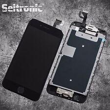 Display für iPhone 6S LCD mit RETINA Glas Scheibe VORMONTIERT - SCHWARZ - BLACK