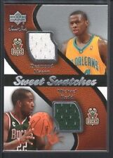 DESMOND MASON MICHAEL REDD 2007/08 SWEET SHOT SWATCHES DUAL GAME JERSEY SP $12