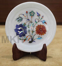 Dinner serving plates stoneware dish royal marble platter wall plate home decor