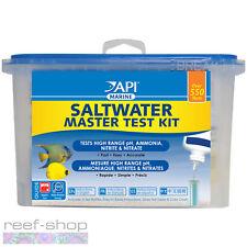 API Saltwater Master Test Kit 550+ Marine Tests pH Ammonia Nitrite Nitrate