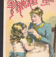 Dr Shermans Prickly Ash Bitters St Louis Kansas City Cure Bottle Ad Trade Card