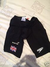 Speedo Racer Elite swimsuit Jammer Olympic LZR British Swimming Team GB 26 male