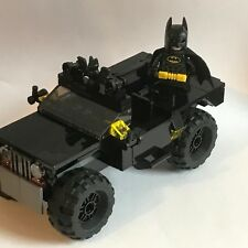 LEGO original BATMAN minifigure + BLACK HUMVEE - my design batmobil RARE