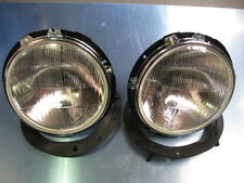 FORD ESCORT MK1, CIBIE HEADLAMPS AND BOWLS,  HEAD LIGHT, AVO, HISTORIC RALLY.