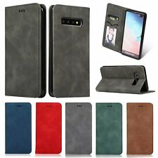 Retro Business Leather Photograph Card slot Flip Stand Shockproof Phones Case
