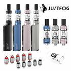 JustFog Q16 Pro E-Zigaretten Kit Starterset - Clearomizer - Ersatzglas - Coils