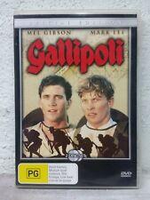 GALLIPOLI - DVD - 1981 WAR MOVIE - Mel Gibson, Mark Lee, Peter Weir WORLD WAR 1