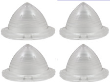 1958 CHEVY BEL AIR NOMAD  Clear Parking Light Lens 4 Pcs. Brand New Reproduction