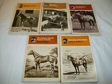 Horse training book lot Equine horsemanship veterinary Quarter Appaloosa foal