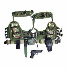 Rick: US Navy Seal Team 6 - Belt & Vest Set - 1:6 Dragon Action Figure Accy