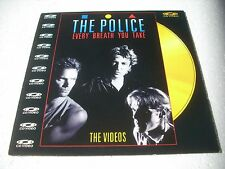 THE POLICE  / THE VIDEOS  Europe Laserdisc Pal version