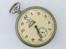 Hel Bros 17j Train Case Pocket Watch  - 4460