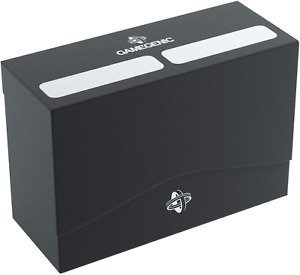 Double Deck Holder 160+ Deck Box: Black GameGenic Asmodee NEW
