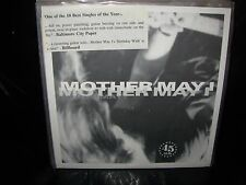 """MOTHER MAY in a box / birthday wish ( rock ) 7""""/45 picture sleeve clear"""