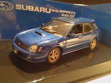SUBARU IMPREZA WRX STI NEW AGE WAGON BLUE MET. AUTOart 1/43 NEW RARE