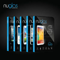 TWIN PACK Nuglas® Tempered Glass Screen Protector Fits Apple iPhone SE 5 5S 5C