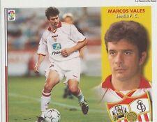 N°01 ULTIMOS FICHAJES MARCOS VALES # ESPANA  FC.SEVILLA LIGA 2003 ESTE STICKER
