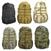 XL Trekking Wanderrucksack Rucksack schwarz tarn Army camouflage 40 L