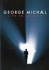 GEORGE MICHAEL Live In London DVD *NEW & SEALED